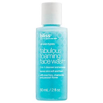 Bliss fabulous foaming face wash, 2 oz