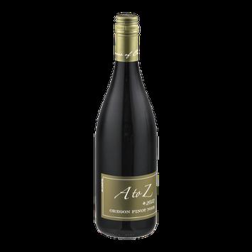 A to Z Oregon Pinot Noir 2012