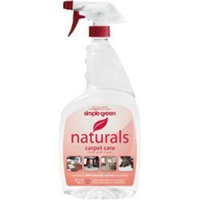 Simple Green 3110000612304 Naturals Carpet Cleaner, 24 Oz, Clear