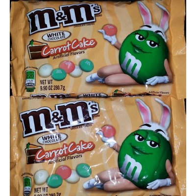 M&M'S® White Chocolate Carrot Cake Flavor, Easter