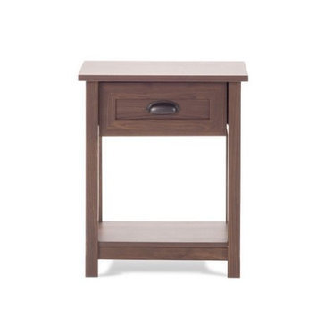 Childcraft Abbott Night Stand - Rich Walnut