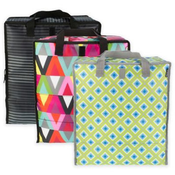 Pack It Pack-It Grocery Bag Geometric - Pack-It Travel Coolers