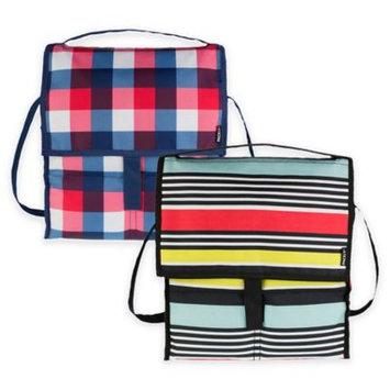 PackIt Freezable Gel-Liner Picnic Bag (Buffalo Check)