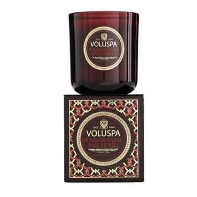 Voluspa Pomegranate Patchouli Classic Maison Candle, 100 hour 12 oz
