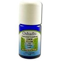 Oshadhi - Professional Aromatherapy Yellow Lemon Extra Certified Organic Essential Oil - 10 ml.