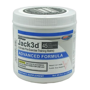 USP Labs Jack3d Advanced - Blue Raspberry (45 servings)