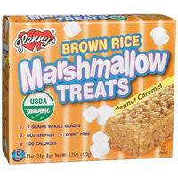 Glenny's Brown Rice Marshmallow Treats-Peanut Caramel (5 Count)