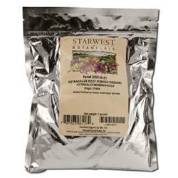Starwest Botanicals Organic Astragalus Root Powder