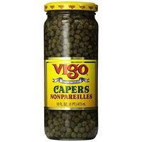 Vigo Nonpareilles Capers, 16 Ounce