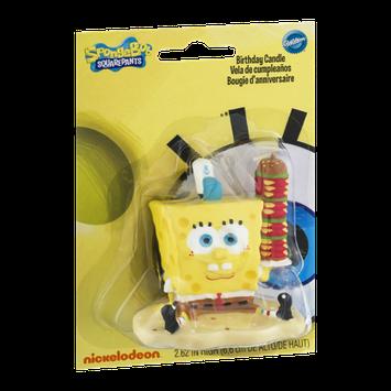 Wilton Sponge Bob Squarepants Birthday Candle