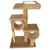 Ware Manufacturing Sisal Scratcher Kitty Bistro with 2 Condo