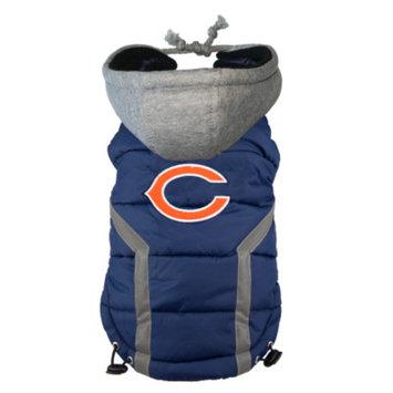 Ec Team Apparel Chicago Bears Dog Hoodie Vest - M