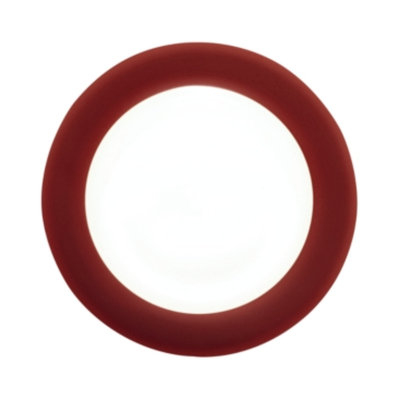 Noritake Dinnerware, Colorwave Raspberry Rim Dinner Plate