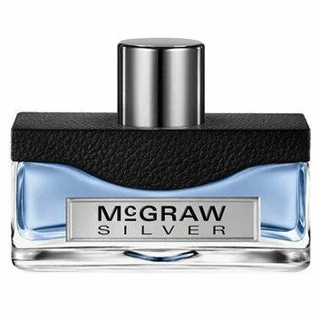 Tim McGraw Men's Silver by  Eau de Toilette - 1.7 oz