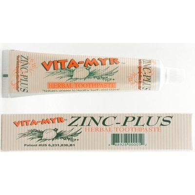 VITA-MYR Zinc-Plus Herbal Toothpaste 4 Oz