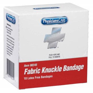PHYSICIANSCARE 90245G Knuckle Bandage, Beige, Fabric, PK10