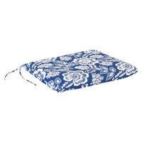 Jordan Outdoor Single Swing/Glider Cushion - Blue/White Geometric