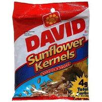 David Sunflower Kernels 3.75 oz. (Pack of 12)