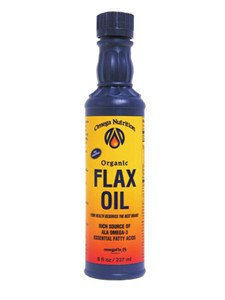 Omega Nutrition Flax Seed Oil 8 oz