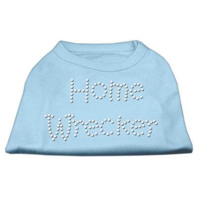 Mirage Pet Products 5238 XXXLBBL Home Wrecker Rhinestone Shirts Baby Blue XXXL 20