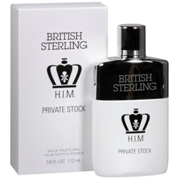 Dana British Sterling H.I.M. Private Stock Eau de Toilette Spray, 3.8 fl oz