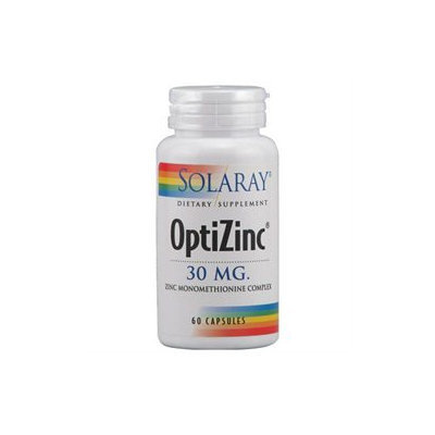 Solaray OptiZinc - 30 mg - 60 Capsules