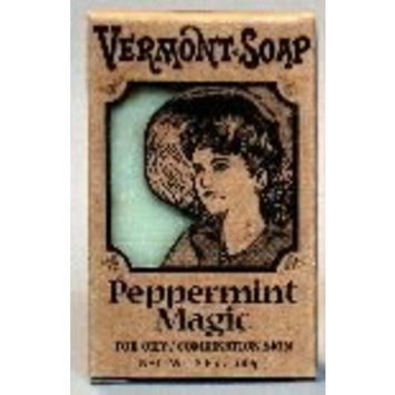 Vermont Soap Organics - Peppermint Magic 3.5 Oz Bar Soap