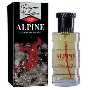 Designer Collection Alpine Cologne By Alpine 3.4 Oz Eau De Toilette Spray For Men