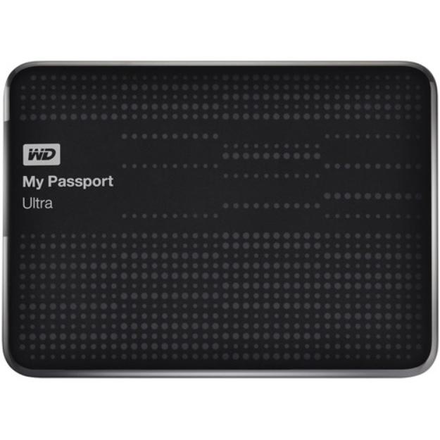 Western Digital WD My Passport Ultra 2TB Portable External Hard Drive, Black