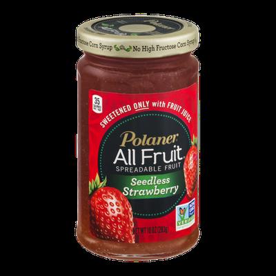 Polaner All Fruit Spreadable Fruit Seedless Strawberry