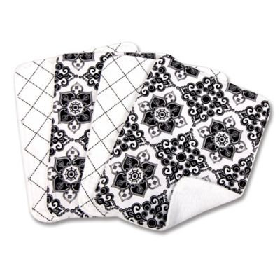 Trend Lab Heirloom Four Piece Terry Burp Cloth Set