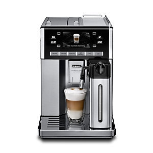 DeLonghi Stainless Steel Prima Donna Exclusive Automatic Cappuccino System Maker