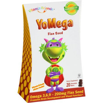 tural Burst Vitamin Friends Yomega Flax - Omega 3,6,9 Flax Seed Kosher Chocolate Friends