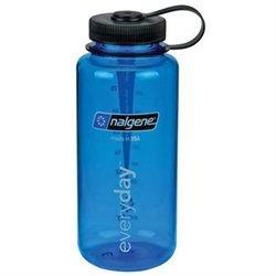 Nalgene Tritan Wide Mouth Water Bottle Blue