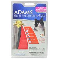 Adams Adams Flea and Tick Spot On for Cats