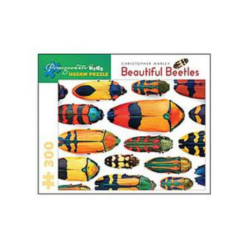 Pomegranate Communications Beautiful Beetles Puzzle: 300 pc Ages 8 and up, 1 ea