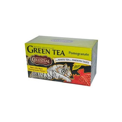 Celestial Seasonings Goji Berry Pomegranate green tea Bags, 20 ct