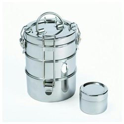 To-Go Ware 1202134 3 Tier Stainless Steel Lunchbox