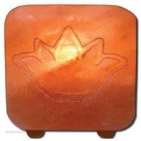 Frontier Salt Tea Light Holder-Lotus, 1 Unit, Ancient Secrets