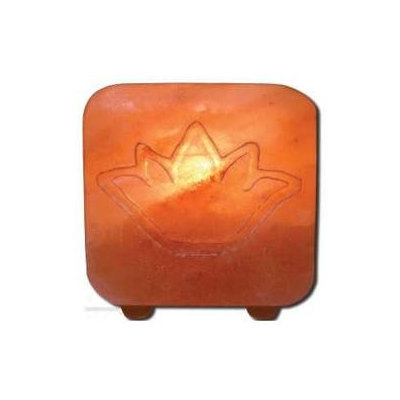 Frontier Salt Tea Light Holder-Lotus, 1 Unit, Ancient Secrets