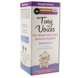 Wellements Baby Tiny Voices Elderberry - 4 oz