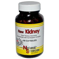 Raw Kidney 60 Cap By Natural Sources (1 Each)