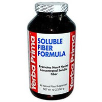 Yerba Prima Soluble Fiber Formula Powder, 12 oz