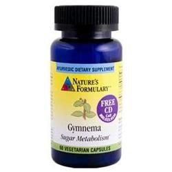 tures Formulary Gymnema (Vegicaps) 60 Cap From Nature'S Formulary