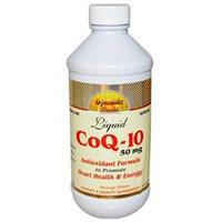 Dynamic Health Laboratories Dynamic Health - Liquid CoQ-10 Orange 50 mg. - 8 oz.