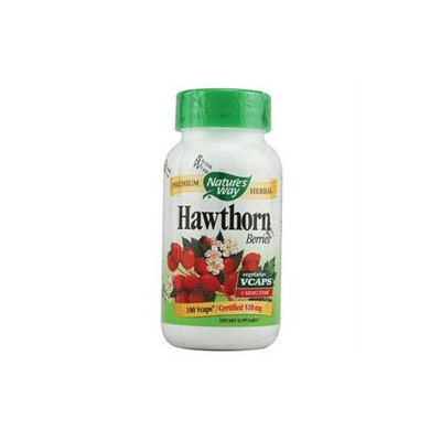 tures Way Nature's Way Hawthorn Berries - 510 mg - 100 Vcaps