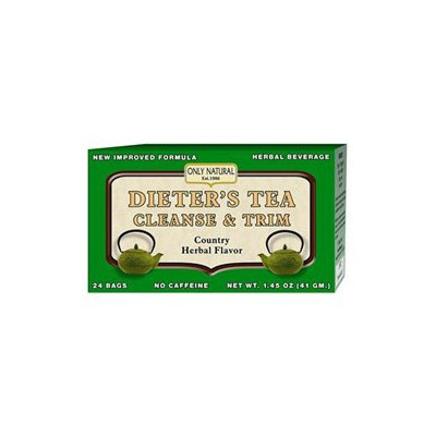 Only Natural Dieter'S Tea Cleanse & Trim-24-Tea Bags
