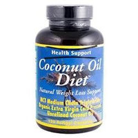 Health Support Coconut Oil Diet 120 Softgels