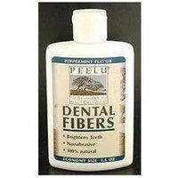 Peelu, Peelu Dental Fibers Peppermint 2.5 oz