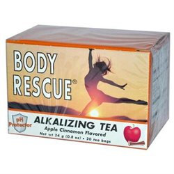 Body Rescue Alkalizing Tea Apple Cinnamon - 20 Tea Bags